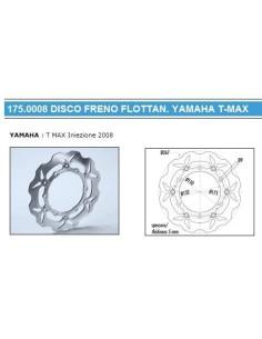 DISCO FRENO ANTERIORE YAMAHA TMAX 500 FLOTTANTE POLINI T-MAX 08 10
