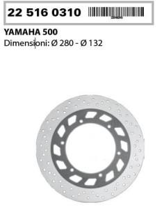 DISCO FRENO ANTERIORE YAMAHA TMAX 500 T-MAX 500 01 03 1 DISCO COMMERCIALE