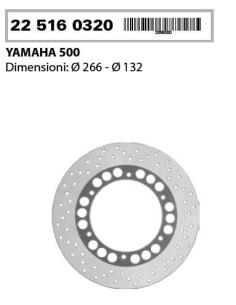 Front Brake Disc RMS 225160310 Yamaha T-Max 500 2001-2003