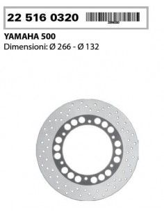 DISCO FRENO POSTERIORE YAMAHA TMAX 500 T-MAX 500 2001 2003 COMMERCIALE