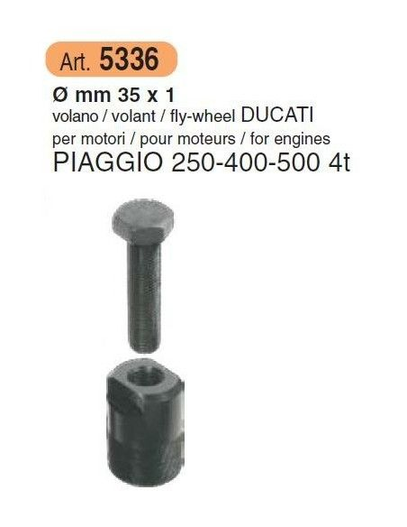ESTRATTORE VOLANO PIAGGIO 250 400 500
