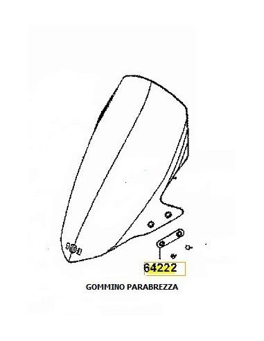 GOMMINO PARABREZZA KYMCO DOWNTOWN 125 200 300