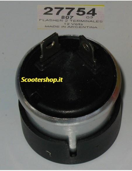 Intermittenza Frecce Moto Scooter 12V 23 138W a 2 faston rele' frecce