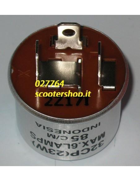 Intermittenza Frecce Moto Scooter 12V 23 138W a 3 faston rele' frecce