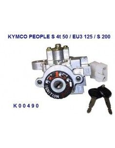 KIT SERRATURE KYMCO PEOPLE S 50 125 200 BLOCCHETTO AVVIAMENTO COMPLETO