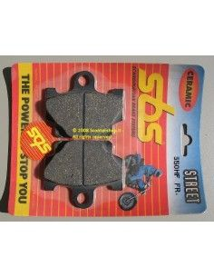 PASTIGLIE MOTO CERAMICA SBS 550