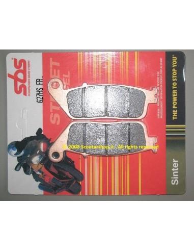 PASTIGLIE MOTO SINTERIZZATE SBS 627