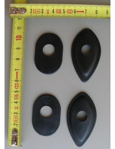 Placca supporto freccia di forma a goccia