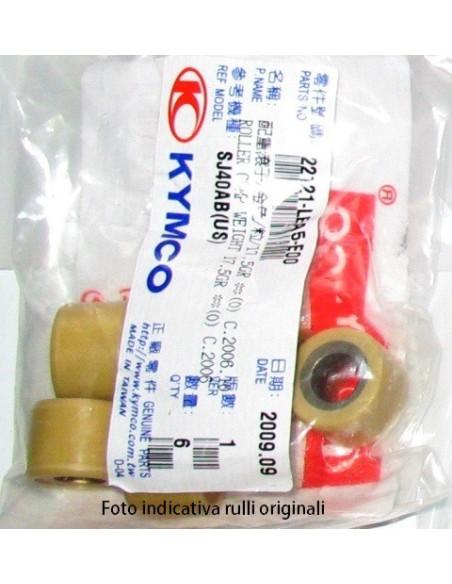 RULLI 18 X 14 GR AGILITY 125 150 RUOTA 16 PRIMO IMPIANTO KYMCO ORIGINALE DOWNTOWN SUPER 8