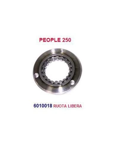 RUOTA LIBERA PEOPLE 250 INGRANAGGIO PER AVVIAMENTO ELETTRICO COMMERCIALE