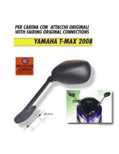 SPECCHIO RETROVISORE YAMAHA TMAX DAL 2008 SPECCHIO SINISTRO TIPO ORIGINALE