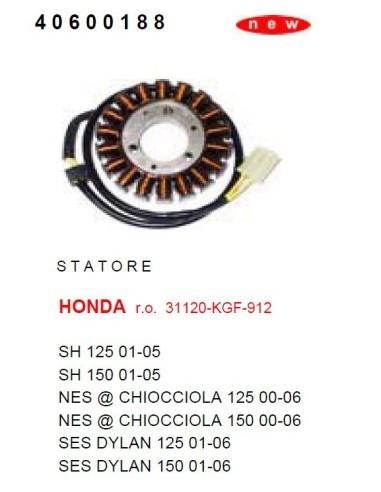 STATORE HONDA SH 125 150 DAL 2001 AL 2005 CAMPO MAGNETICO