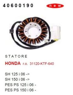 STATORE HONDA SH 125 150 I DAL 2006 IN POI CAMPO MAGNETICO
