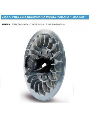 TMAX PULEGGIA  MOBILE POLINI T-MAX 500 TUTTI