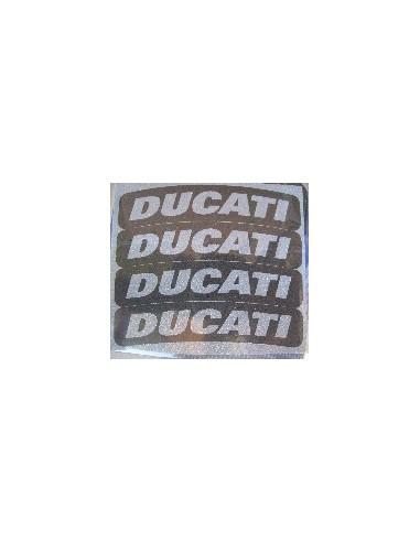 Tyres Stikers Adesivo con logo DUCATI per gomma moto scooter