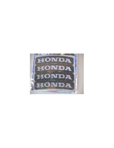 Tyres Stikers Adesivo con logo HONDA per gomma moto scooter