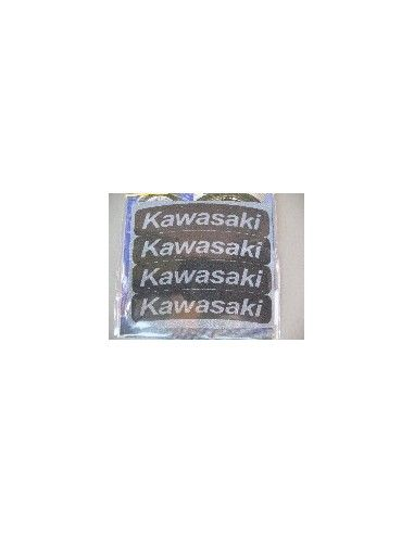 Tyres Stikers Adesivo con logo KAWASAKI per gomma moto scooter