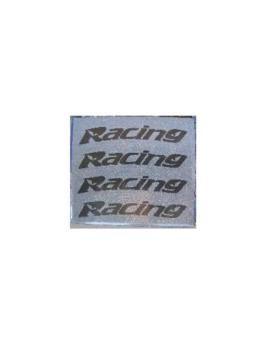 Tyres Stikers Adesivo con logo RACING per gomma moto scooter