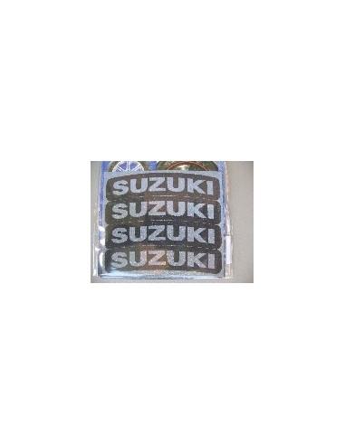 Tyres Stikers Adesivo con logo SUZUKI per gomma moto scooter