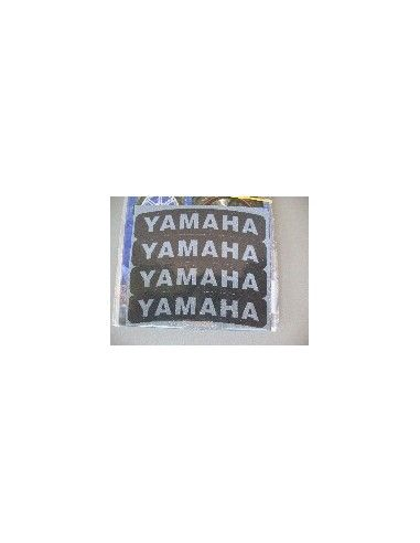 Tyres Stikers Adesivo con logo YAMAHA per gomma moto scooter