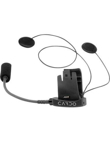 Kit audio FM Cardo scala rider Q2 TeamSet flexible microphone