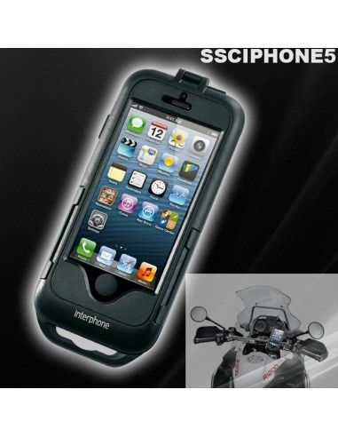 IMPERMEABILE DA MOTO-SCOOTER-CARICABILE SUPPORTO PORTA TELEFONO IPHONE 5