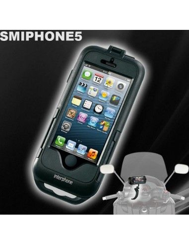 iphone 5 waterproof scooter with support for a band smiphone5 cellularline. Black Bedroom Furniture Sets. Home Design Ideas