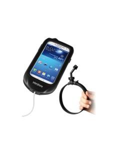 SSCGALAXYS4R supporto per moto a manubrio scatolato , scooter e manubri carenati per telefono Samsung Galaxy S4