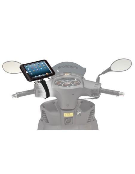SSC IPAD MINI custodia per moto o scooter con attacco al manubrio scatolato per Apple Ipad Mini