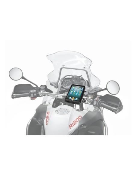 SM IPAD MINI custodia per moto o scooter con attacco al manubrio tubolare per Apple Ipad Mini