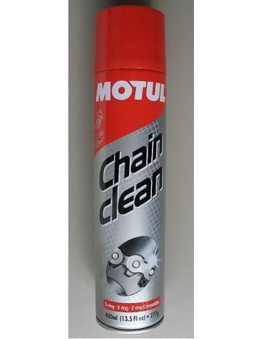 Limpiador Motul cadena spray 400ml pack para motocicletas adecuadas para todas las cadenas