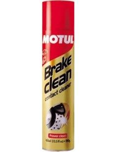 BRAKE CLEAN MOTUL SGRASSANTE PER DISCHI E PASTIGLIE FRENO 400 ML SPRAY