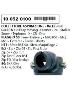 COLLETTORE ASPIRAZIONE 436095 PIAGGIO NRG POWER DT SERIE SPEC 50 2007 2008