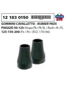 COPPIA GOMMINI CAVALLETTO PIAGGIO VESPA 50 PK XL V N FL VESPA PX PE 125 150 200