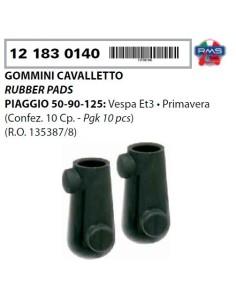 COPPIA GOMMINI CAVALLETTO PIAGGIO VESPA 50 SPECIAL ET3 125 PRIMAVERA