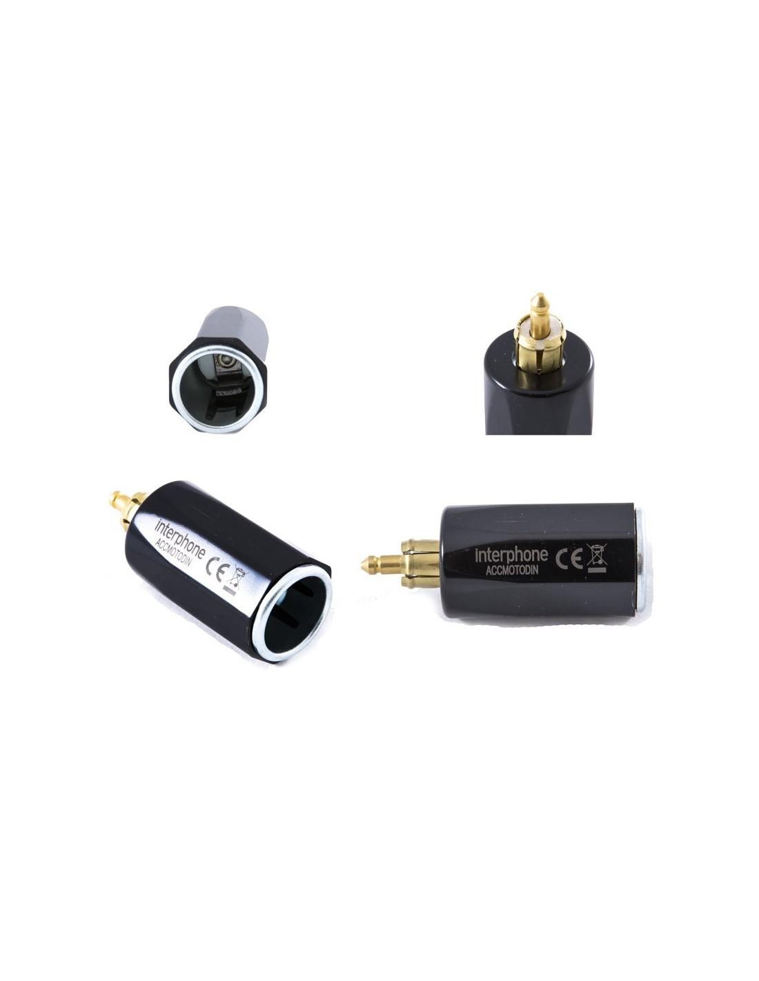 xde adapter 12v zigarettenanz nder mit din stecker ebay. Black Bedroom Furniture Sets. Home Design Ideas
