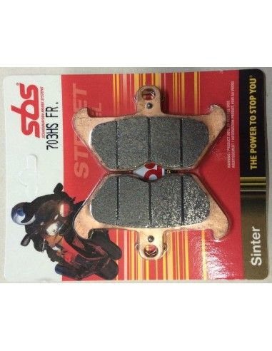 MOTORCYCLE BRAKE PADS CERAMIC SBS 703