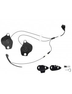 Kit audio Cellularline serie F-XT F-MC microfono r auricolari specifico per casco SCHUBERTH C3