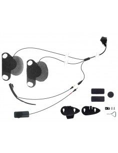 Kit audio Cellularline serie F-XT F-MC microfono r auricolari specifico per casco SHOEI