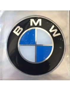 ADESIVO BMW A RILIEVO DIAMETRO 75 MM