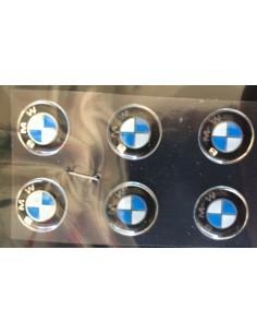 ADESIVO BMW A RILIEVO DIAMETRO 13 MM PZ 6