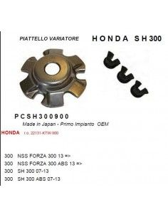 RAMPA RULLI PIATTELLO VARIATORE TIPO ORIGINALE HONDA SH 300
