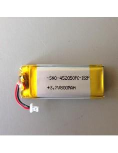 Bateria G4-G9-Cardo Systems Scala Rider intercomunicação 3,7/4,2V 800mAh