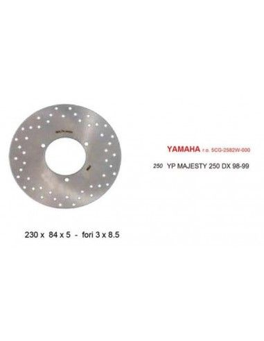 SPATE YAMAHA MAJESTY discul de frână 250 DX 99