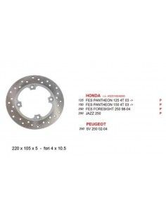 BRAKE DISC REAR HONDA FORESIGHT 250