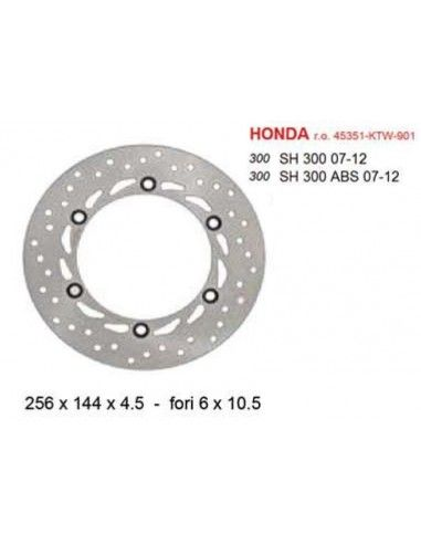 BRAKE DISC FRONT HONDA SH 300 COMMERCIAL QUALITY '