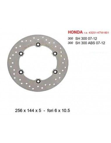 BRAKE DISC REAR HONDA SH 300 COMMERCIAL QUALITY '
