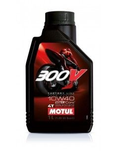 ÓLEO MOTUL 300V 10W40 15W50 1 LT