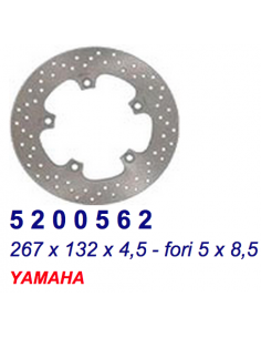 BRAKE DISC FRONT YAMAHA MAJESTY 400 2004 TO 2008