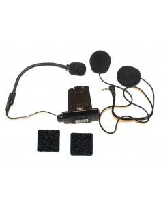 Q1 Q3 Kit audio microfono altoparlanti per interfono cardo scala rider No Box